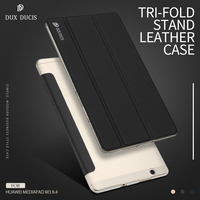 For Huawei MediaPad M3 Bag Cover DUX DUCIS Skin Pro Series Tri Fold Stand Leather Case