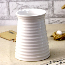 Porcelain Vintage Vase DIY Planting Flower Container White Home Garden Decor Wedding Desk Party Decoration 1pCS/Lot