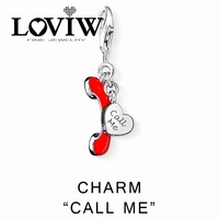 Call Me Charms Women Style Charm Party Good Jewerly For Ladies DIY Love Valentine S Day