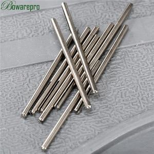 Image 1 - 10 sztuk Shank długi papier ścierny Split Point prosto trzpienie F/Dremel obrotowy Adapter narzędzie 2.35mm
