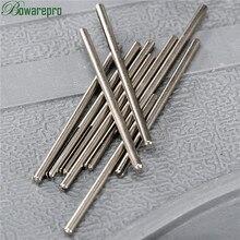 10Pcs שוק ארוך שוחקים נייר זכוכית פיצול נקודה ישר Mandrels F/Dremel רוטרי מתאם כלי 2.35mm