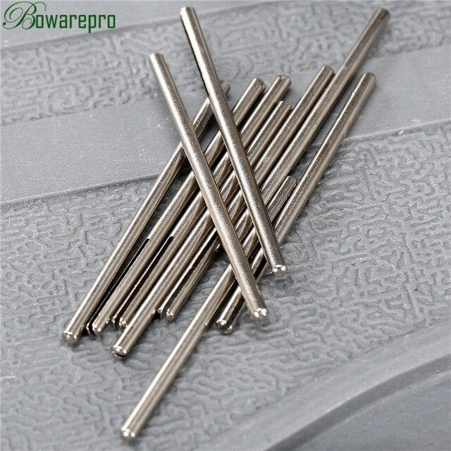 10Pcs Shank Lungo Abrasivo Carta Vetrata Punto di Divisione Dritto Mandrini F/Dremel Rotary Adapter Strumento di 2.35 millimetri