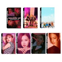 NEW KPOP BLACKPINK Album Self Made Paper Lomo Card Photo Card Poster HD Photocard Fans Gift Collection 30pc Jennie(China)