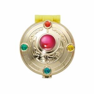 Image 3 - PrettyAngel Bandai Sailor Moon 20 주년 기념 가샤 폰 브로치 콤팩트 미러 세트