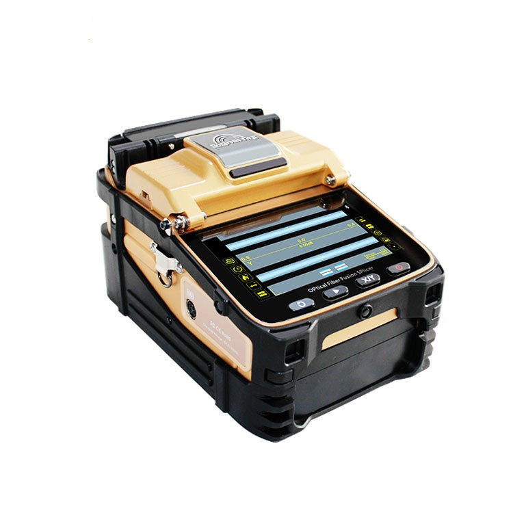 SM&MM AI-8C Automatic FTTH Fiber Optic Welding Splicing Machine Optical Fiber Fusion Splicer