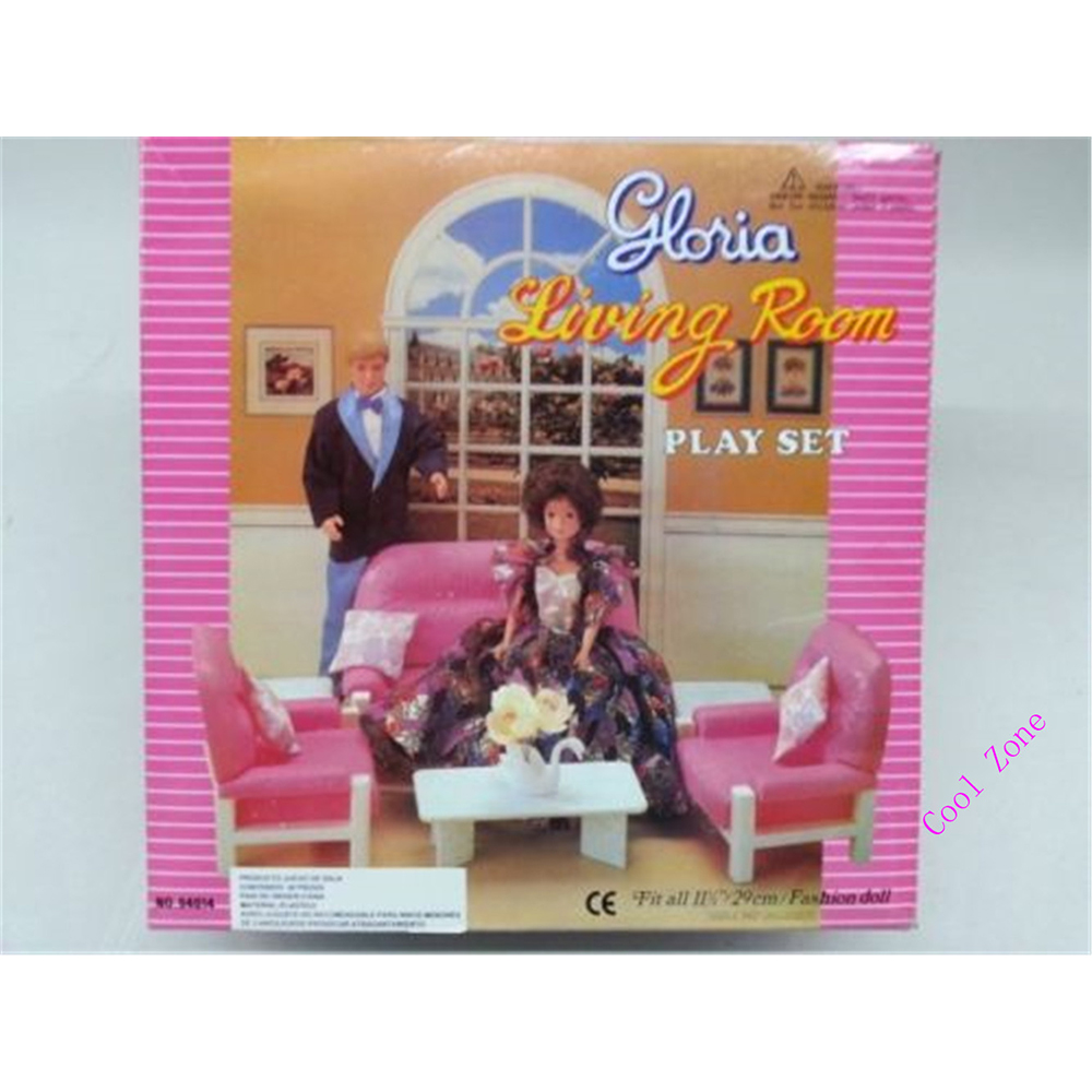 Miniature Furniture Living Room With Sofa And Tea Table For Barbie Doll  House Best Gift Toys For Girl Free Shipping In Dolls Accessories From Toys  U0026 Hobbies ...