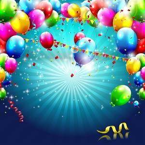 Image 3 - Allenjoy 사진 배경 풍선 배너 생일 신생아 새해 photocall 플래그 사진 배경 스튜디오 photophone