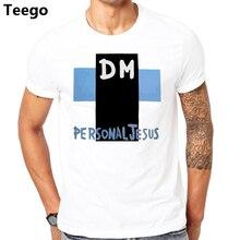 13651869034 Personal Jesus T shirt Men Cross DM T-shirt Male Depeche Mode Tees Summer  raglan