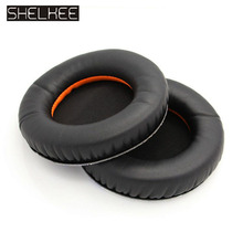SHELKEE Audio Replacement Ear Pad  parts + Headband Cushion For Steelseries Siberia V1 / V2 V3 Game Headphones