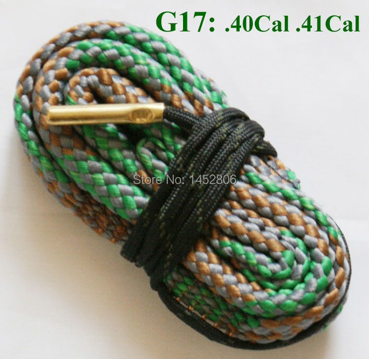 New Bore Rope Cleaner .40 Cal .41 Caliber Bore Rope Rifles Pistol Cleaning image