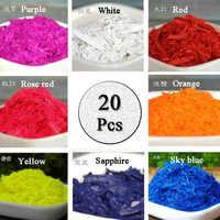 20 colori 2g Per Colore FAI DA TE Candela Che Fa Cera Tintura PaintsScented Non-Tossico Di Soia Cera di Candela Pigmento Colorante per Fare Candela Profumata