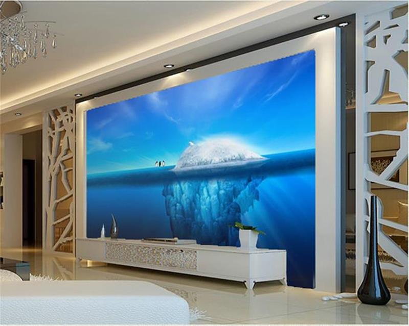 Compare prices on penguin wall mural online shopping buy for Custom mural cost