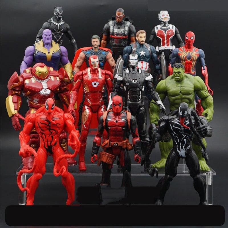 new-avengers-4-endgame-super-heroes-figures-toys-captain-font-b-marvel-b-font-venom-deadpool-captain-america-hulk-thanos-thor-doctor-strange