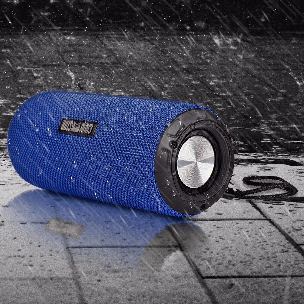 Chialstar Outdoor Speaker M2 Blue impermeable IPX6 12W Altavoces - Audio y video portátil