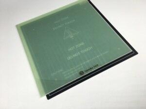 Image 2 - Creality 10 S, для сборки пластины из стекловолокна, с подогревом, для моделей S4, CR 10, S5, 10 S, для сборки, из полипропилена, в виде пластины из стекловолокна