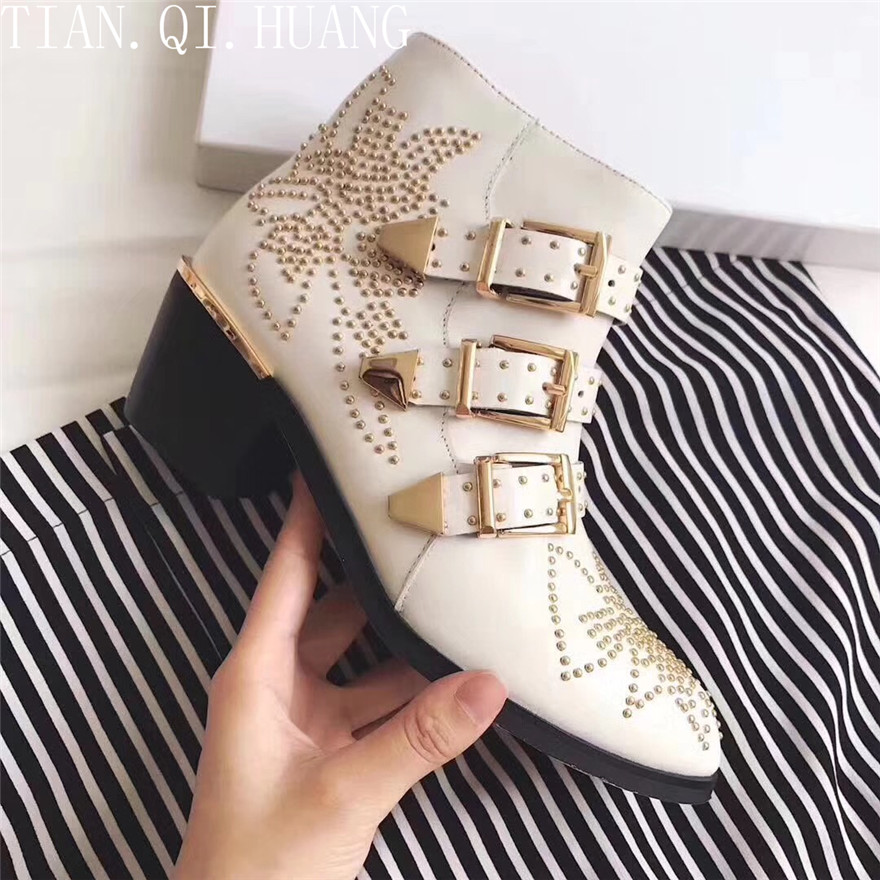 0037f8115 US $91.0 30% OFF Hot Sales Women Boots Fashion Styles Ankle Shoes High  Quality Genuine leather Casual Shoes Woman Winter Shoes TIAN.QI.HUANG-in  Ankle ...