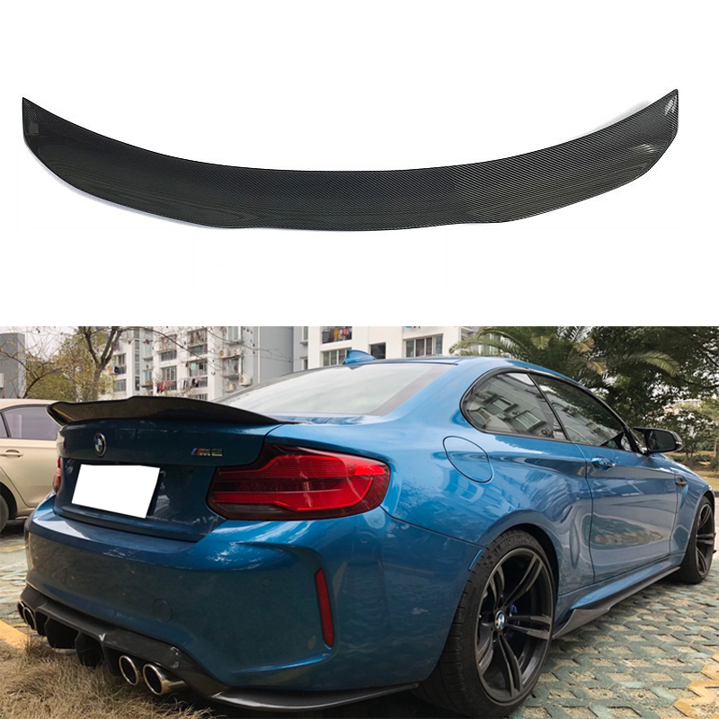 ST M SPORT F22 V STYLE ABS REAR TRUNK BOOT SPOILER