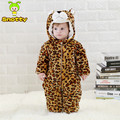 Christmas Cotton Rompers Tiger Overalls Boy 4-24 Winter Clothes Baby Girl KJ-16018