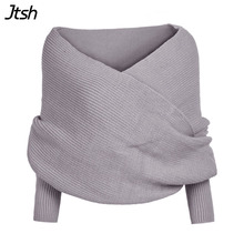 Knitted Poncho Sexy Pullovers Red Sweater Women Autumn Winter Retro Gray Jumper Elegant Loose V Neck Sweaters Shawl Cardigan