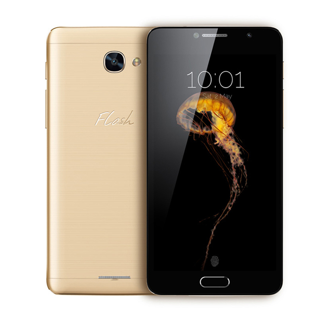 Original Alcatel Flash Plus 2 Mobile Phone Helio P10 MTK6755M Octa Core 5.5 Inch FHD Screen Android 6.0 4G LTE Smartphone