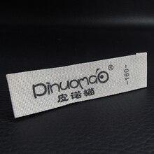 Персонализированная одежда тканевые ярлыки Висячие бирки, вышитый логотип, Заказные ярлыки и этикетки для одежды
