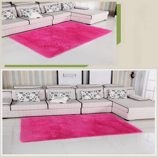 Online Shop Living Room Carpet Soft Faux Fur Area Rug Rectangle Mats ...