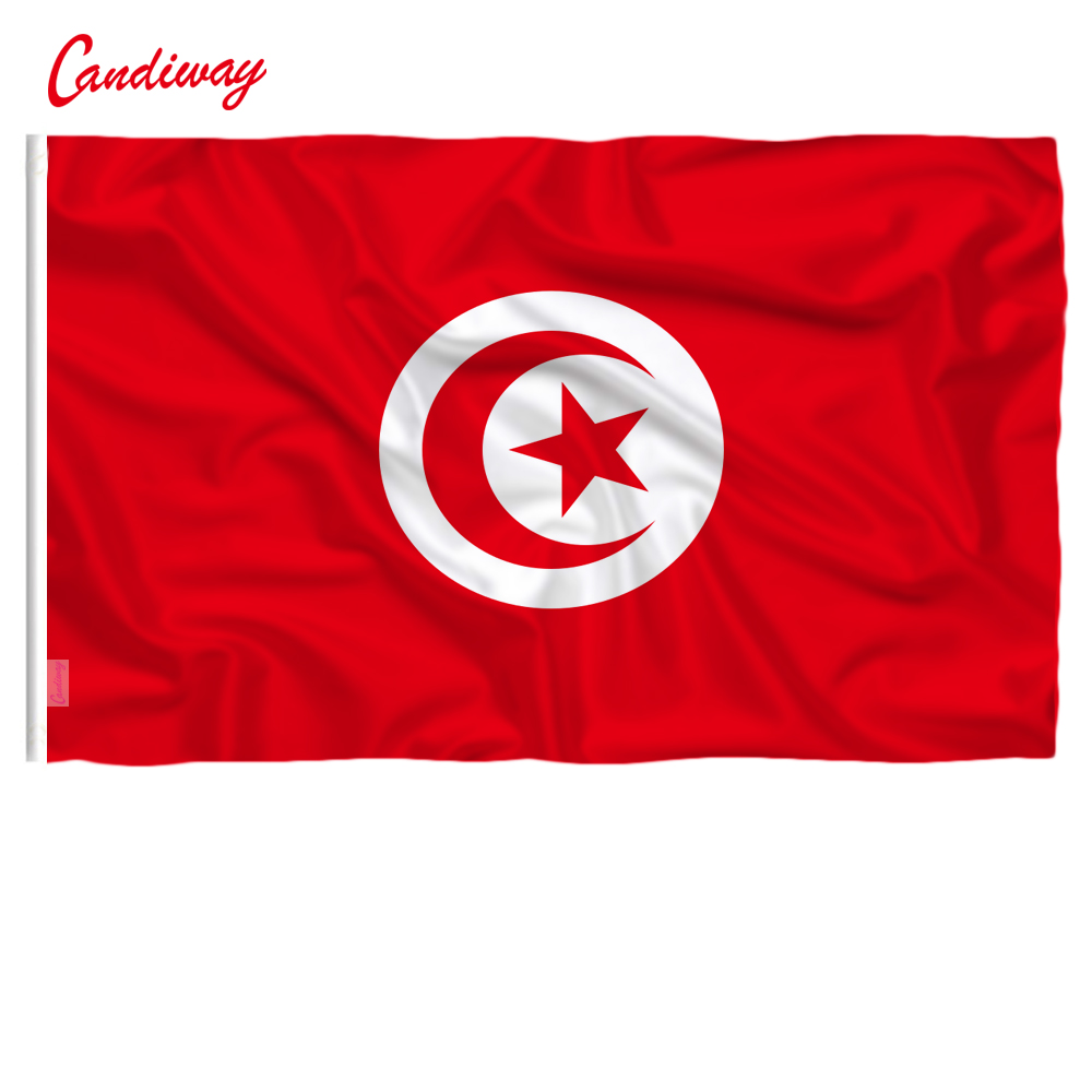 top 8 most popular tunisia flag list and get free shipping