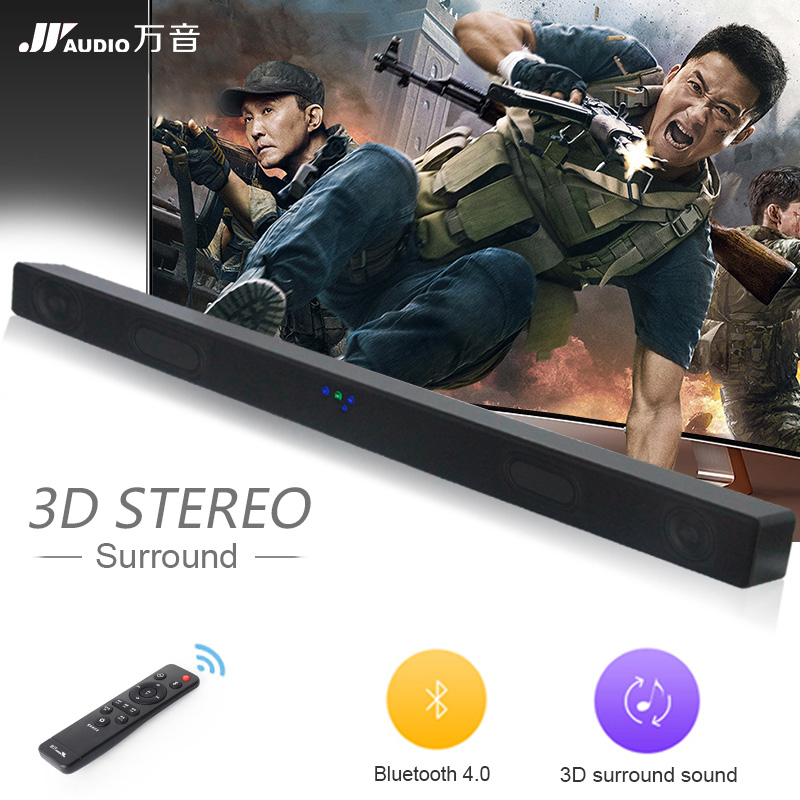 A1 30W Bluetooth Soundbar TV Full-Range 2.1 Home Theater Wireless Speaker Support AUX TF 3D Sound Bar For TV Bass Speakers