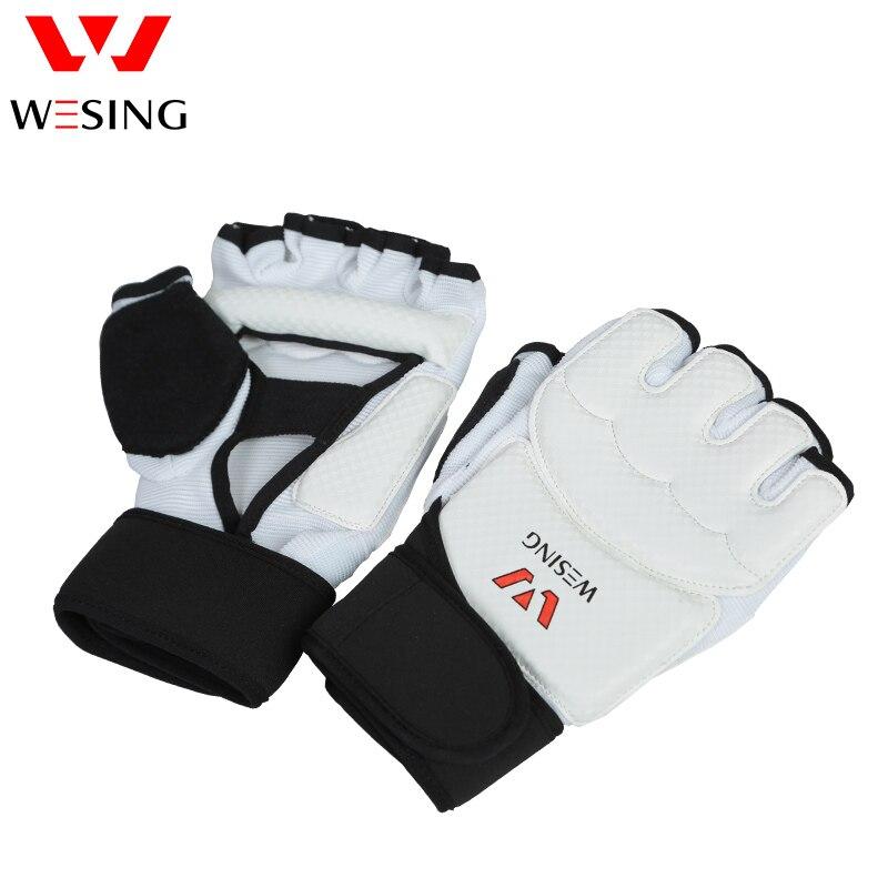 Rukavice Wesing Professional Taekwondo Instep Guard pro tréninkové soutěže Taekwondo Ochranné pomůcky Set Men Women