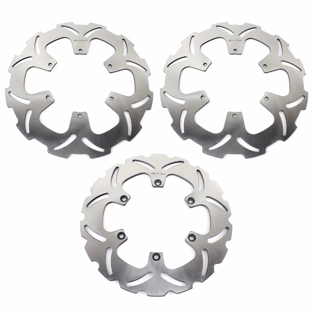 Disques de frein avant arrière BIKINGBOY Rotors pour KTM 950 Adventure S LC8 03 04 05 990 Adventure R 07-12 SUPER ENDURO R 950 06 07 08