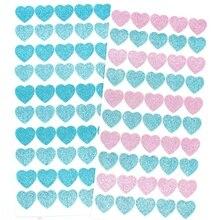 Ksccraft блестящие наклейки в виде сердца для скрапбукинга Happy planner/изготовление открыток/Журнал проекта