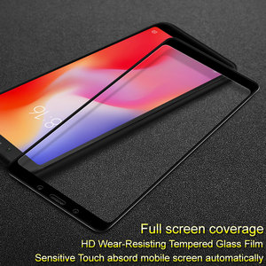 Image 5 - Redmi 6A Protective glass 2.5D 9H HD High quality Full Screen protector for Xiaomi Redmi 6A Tempered glass