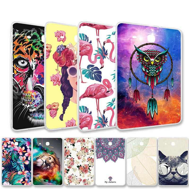 Silicon Phone Cases For Samsung Galaxy Tab S3 Case For Samsung Tab E 8.0 9.6 Skin Shell Bumper Tab S2 Cover 8.0 9.7 Tablet Bags