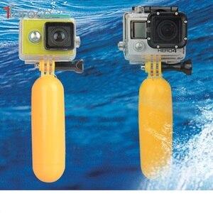 Image 5 - Giallo, Acqua Floating Hand Grip Handle Mount Galleggiante Accessorio Per Gopro Eroe 4/3 +/3/2/1 Per Gopro sj4000 Sj5000 Sj6000 Sj7000 Nuovo