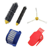 AeroVac Filter + Brush kit + Cleaning Tools for iRobot Roomba 600 Series 610 620 630 650 660