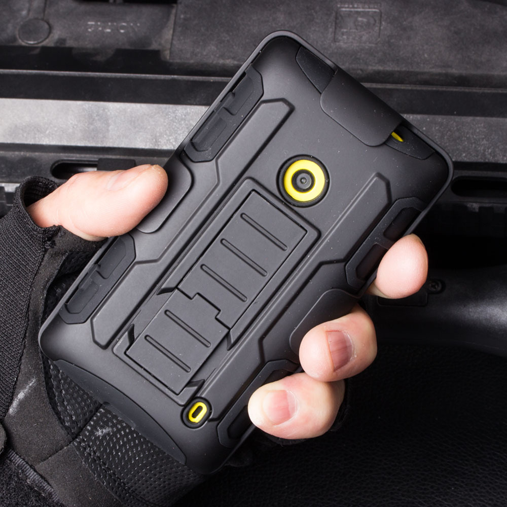 For Nokia lumia 525 526 520 Case Cover Holster Shockproof Hybrid Case For Nokia Lumia 520 Mobile Phone Bags Back Cover Cases