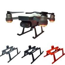 DJI Spark шасси наборы 3 см Высота расширитель ноги для Spark Drone протектор светильник вес быстросъемные ноги защитные части