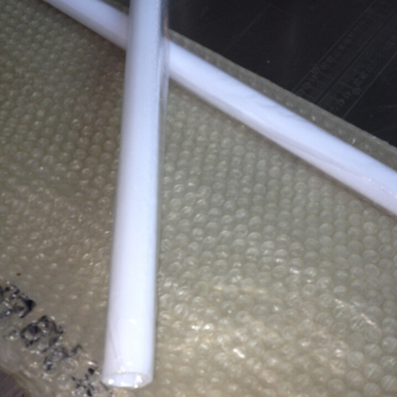Od50x2x1000mm Polycarbonate Putih Susu Tabung Plastik Pc Tabung
