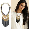 European fashion jewelry S-D-J  LILLITH FRINGE Necklace party jewelry  -Free Shipping