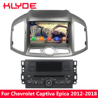 KLYDE 4G Android 8.0 7.1 Octa Core 4GB+32GB Car DVD Player Stereo For Chevrolet Captiva Epica 2012 2013 2014 2015 2016 2017 2018