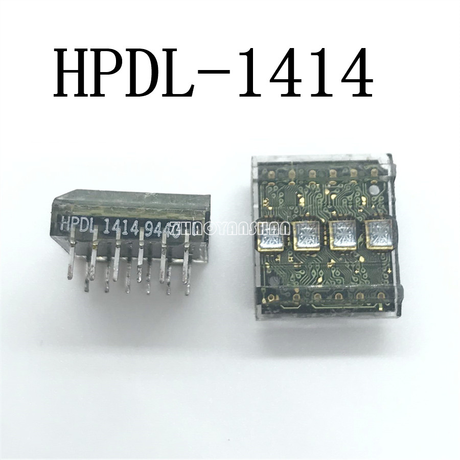 Image 2 - 1pcs X HPDL 1414 HPDL1414 Four character smart digital display. Digital Tube. Free Shipping-in Replacement Parts & Accessories from Consumer Electronics