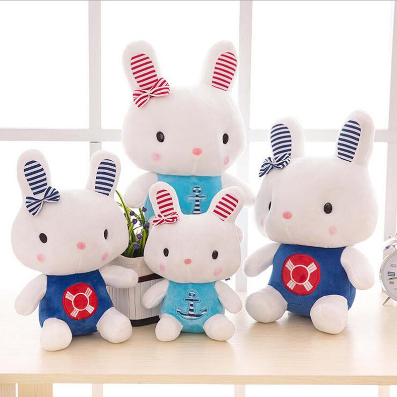 New Cartoon Rabbit Short Plush Toy Stuffed Animal Doll Best Gift For Children & Friends