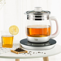 Electric Kettle Teapot Cooking Teapot Multifunction Smart Booking Insulation Dechlorination Stylish Simplicity LCD Panel