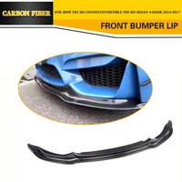 Carbon Fiber Racing Front Lip for BMW F80 M3 F82 M4 Sedan Coupe Convertible 2014 2017