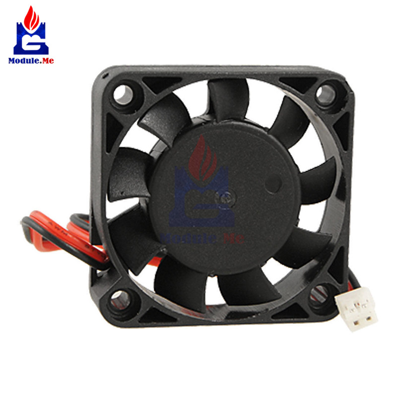 <font><b>Cooler</b></font> Axial Fan 12V 40x40x10mm For Arduino Raspberry Pi Computer 3D printer CF image