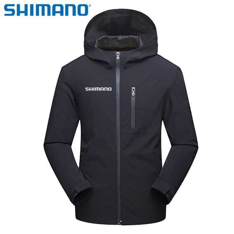 SHIMANO гибкие зимние ветрозащитные Водонепроницаемый Рыбалка пальто тонкая защита от ультрафиолетовых лучей одежда Утепленная одежда ветро...