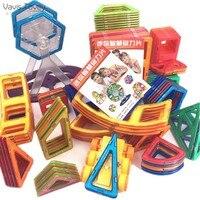 Vavis Tovey 143PCS 3D Educational DIY Magnetic Building Blocks Mini kits Magnet pulling Designer Constructor Toys kids Gifts