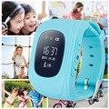 Excelvan q50 q50 safe kids smart watch relógio gps gsm localizador gps tracker criança guarda de alarme anti-perdida smartwatch para ios android
