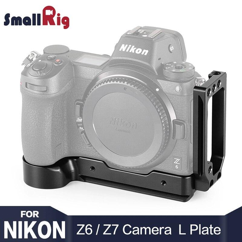SmallRig Z6 Macchina Fotografica L-Staffa per Nikon Z6 e per Nikon Z7 Della Macchina Fotografica w/Arca-di Tipo Rapido piastra a sgancio per verticale o orizzontale 2258