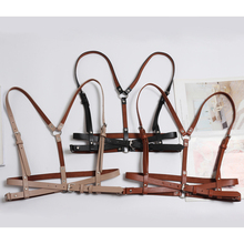 HATCYGGO Women Belt Slim Leather Belt Female Punk Harajuku Straps Harness Body Bondage Belts Straps Suspenders Slim Body Belt body belt купить